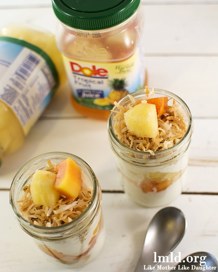 Tropical Dole Fruit Parfaits1