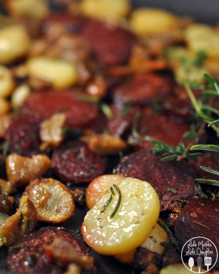 Skillet Potato Beet Chesnut 2