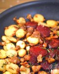 Skillet Beets, Potatoes, and Chestnut will give your taste buds an amazing burst of savory flavor