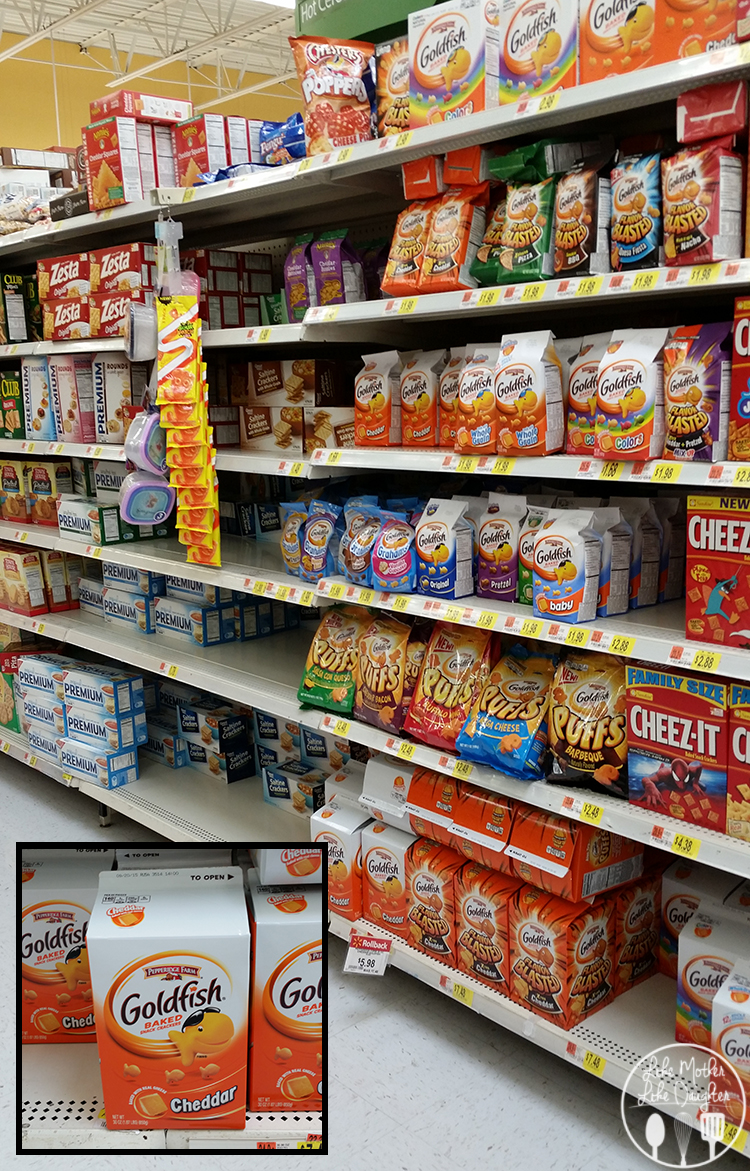goldfish aisle