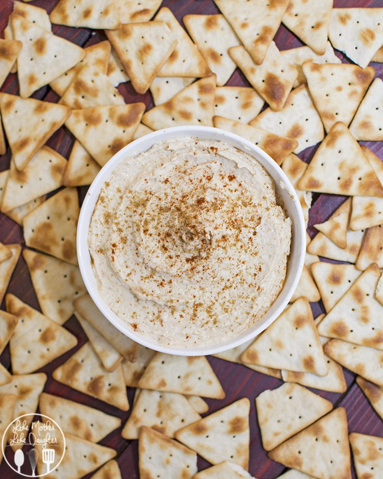 This hummus recipe is delicious, creamy, and so much better than store bought!