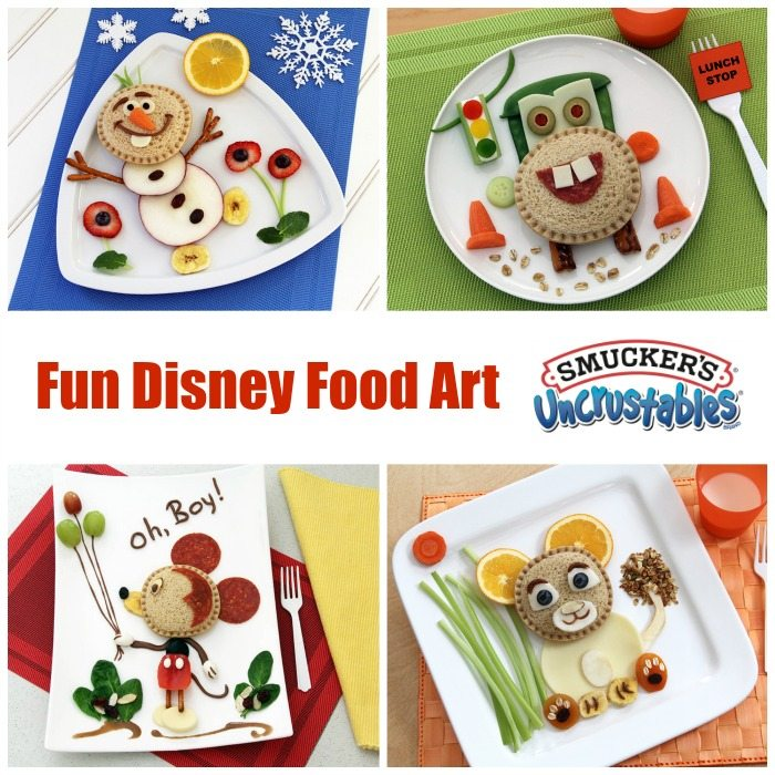 Fun-Disney-Food-Art-Featuring-Smuckers-Uncrustables