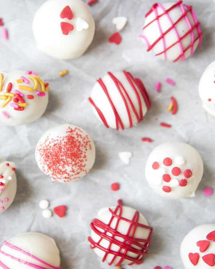 Red Velvet Cake Balls are so easy to make and so delicious