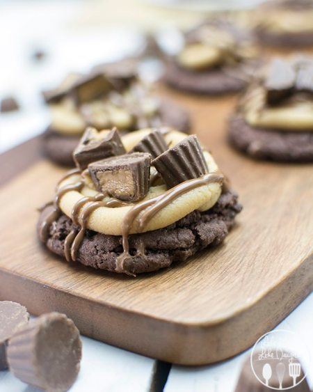 peanut butter cup cookies 3