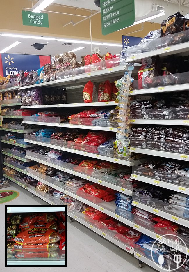 reeses candy aisle