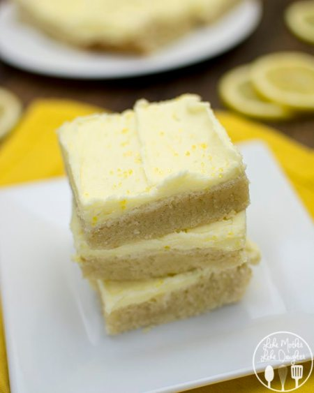 lemon sugar cookie bars 1