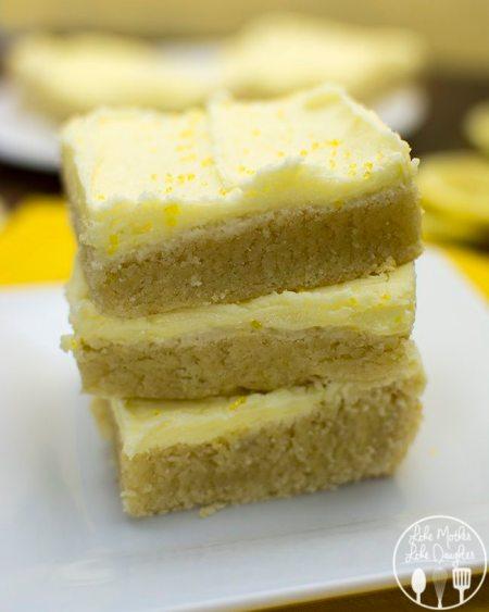 lemon sugar cookie bars 2