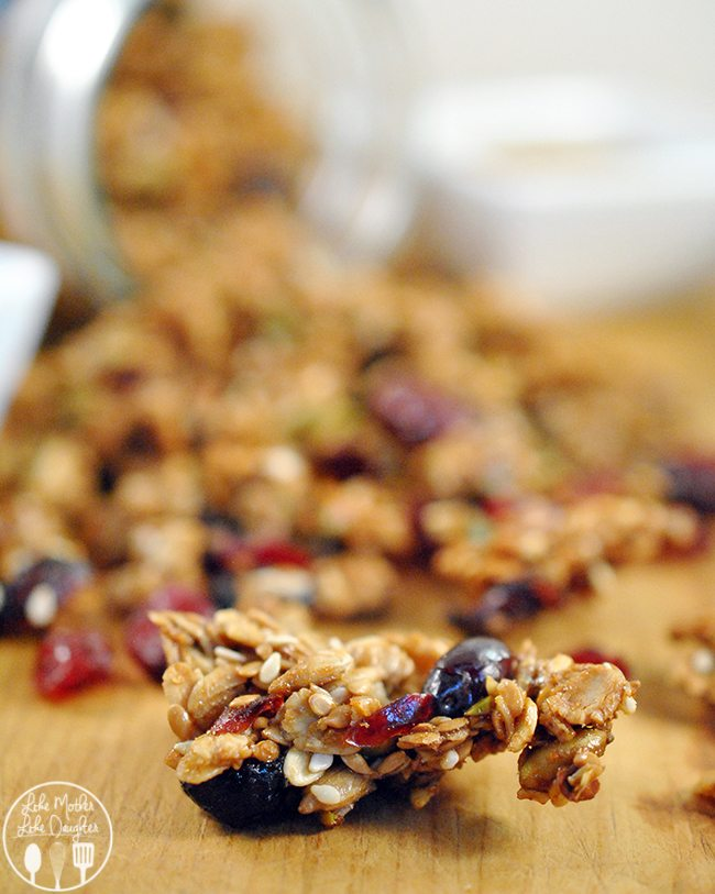 nut and seed granola 2