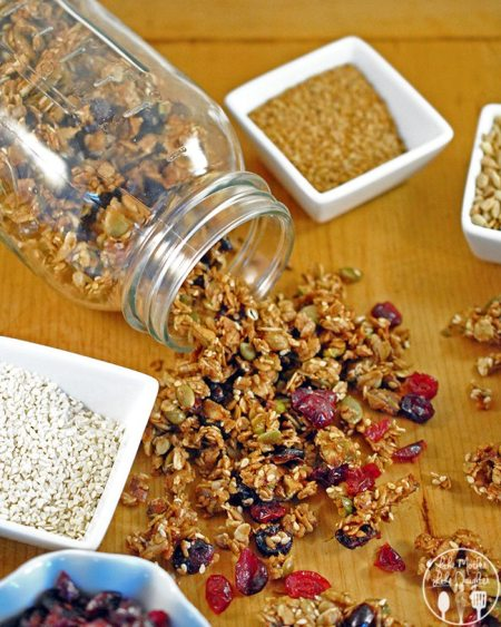 nut and seed granola 4