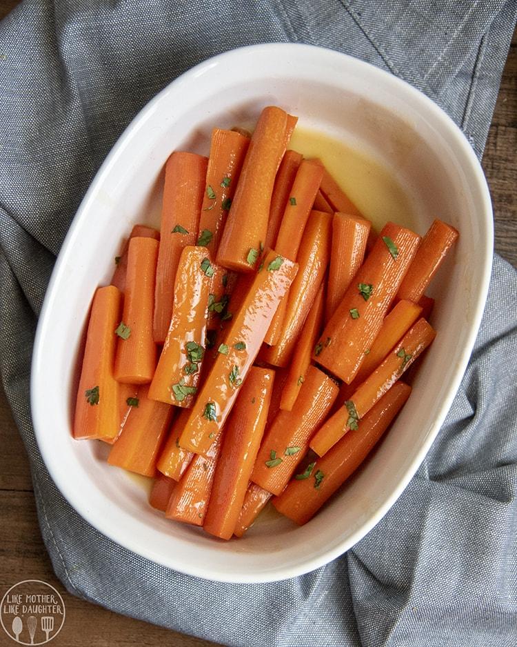 Sweet Glazed Carrot Recipe
