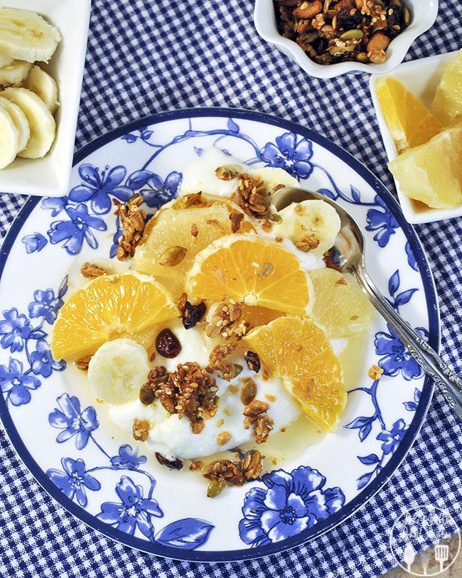 citrus yogurt with citrus syrup 3