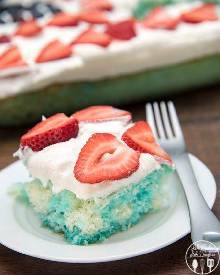 red white and blue jello poke cake 2
