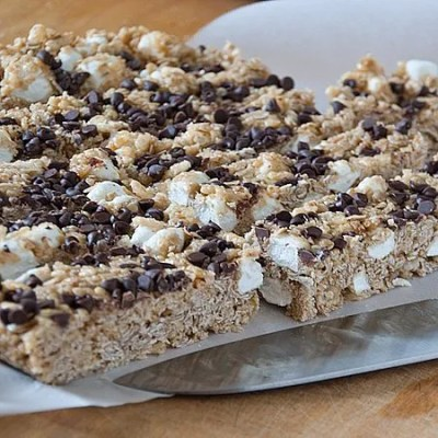Chewy-Smores-Granola-Bars