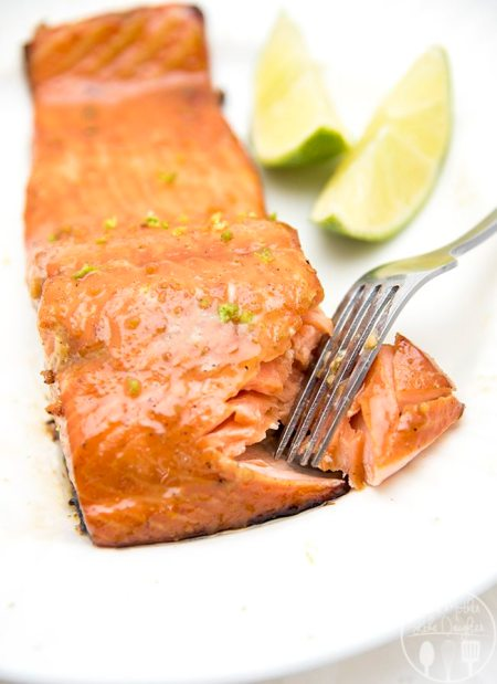 honey lime salmon 1