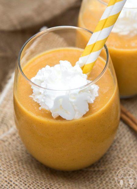 pumpkin pie smoothie 2