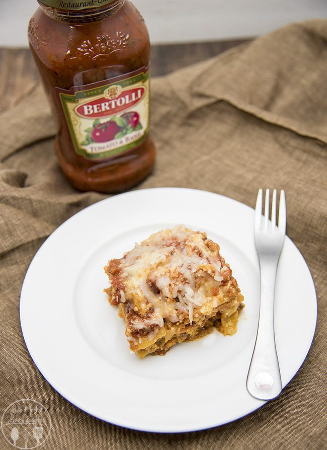 slow cooker lasagna 1