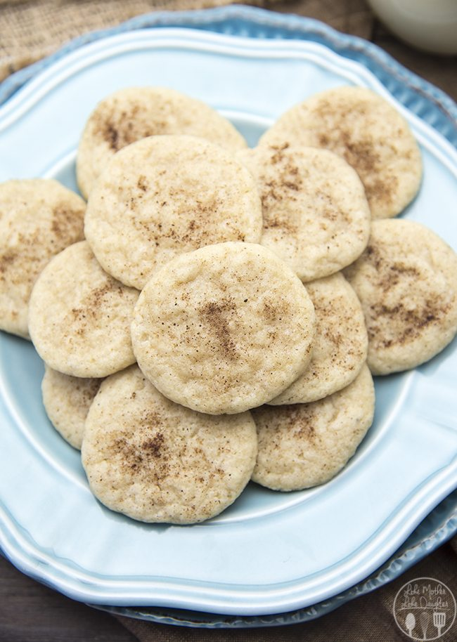 This Eggnog cookie recipe has the great taste of eggnog in a cookie! With eggnog, cinnamon and nutmeg these are a delicious seasonal cookie!