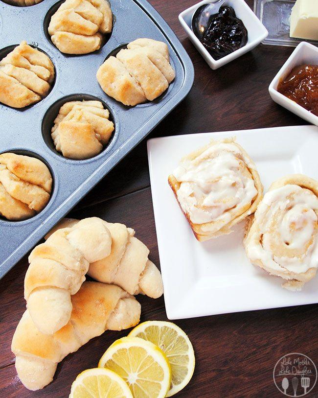 lemon sweet rolls 1