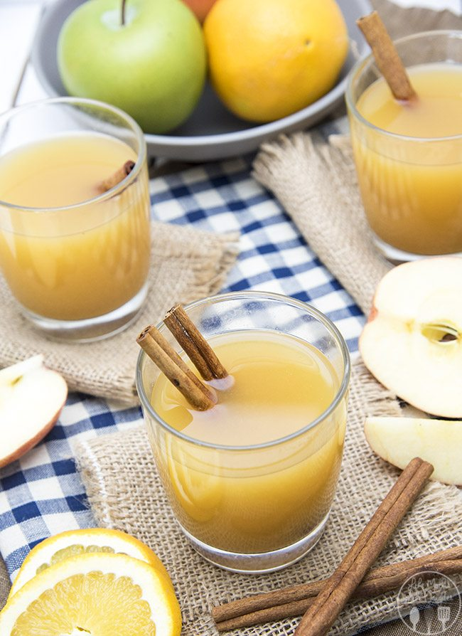 Hot wassail combines apple cider, pineapple juice and orange juice with a great cinnamon undertone for a perfect holiday drink! It can be made on the stove or in a slow cooker!