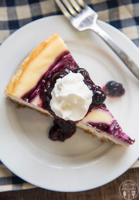 blueberry cheesecake 9