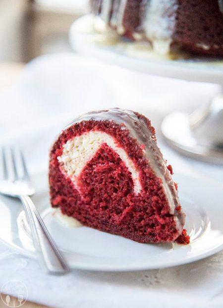cream cheese stuffed red velvet cake 2