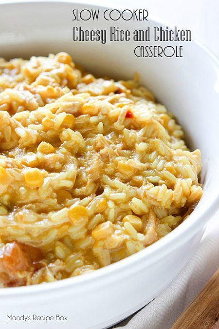 Slow-Cooker-Cheesy-Rice-and-Chicken-Casserole