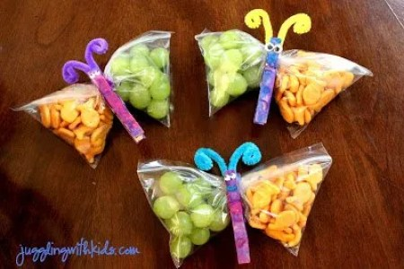 butterfly snacks 2