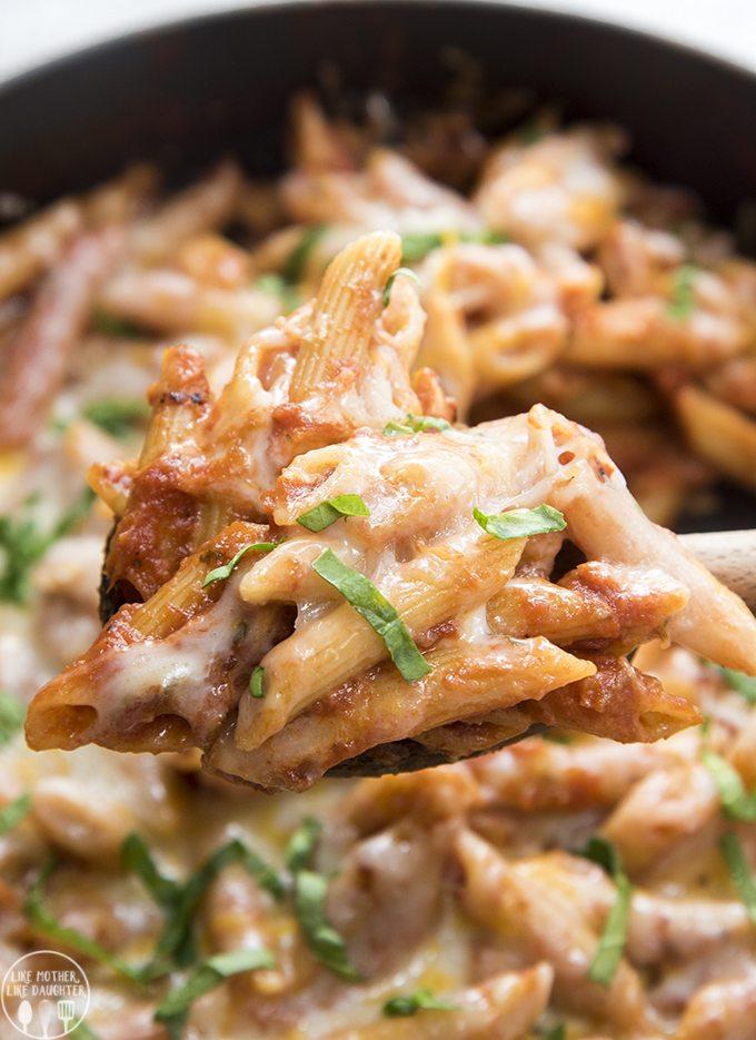 easy one pot pasta 4