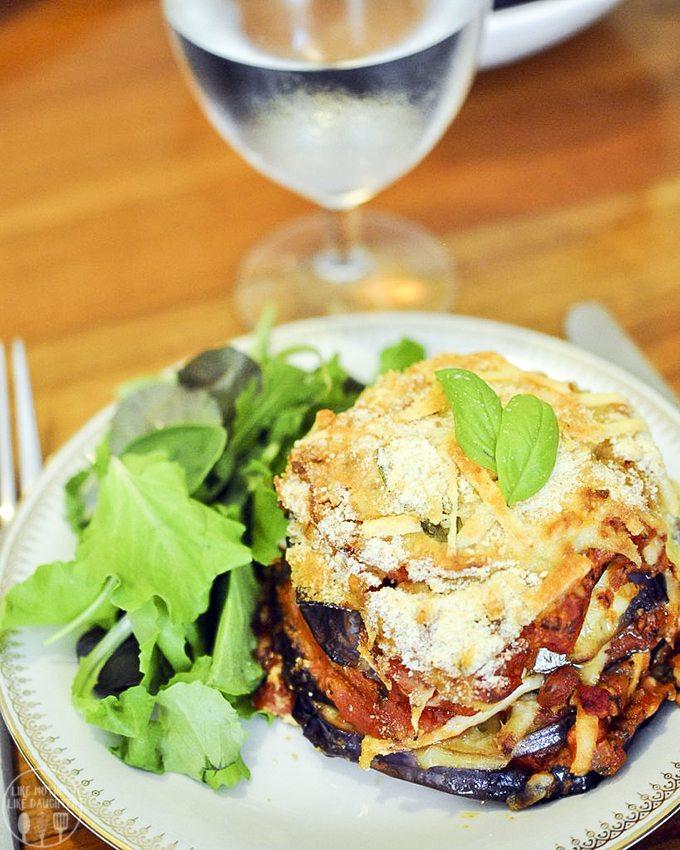 eggplant parmigiana 2