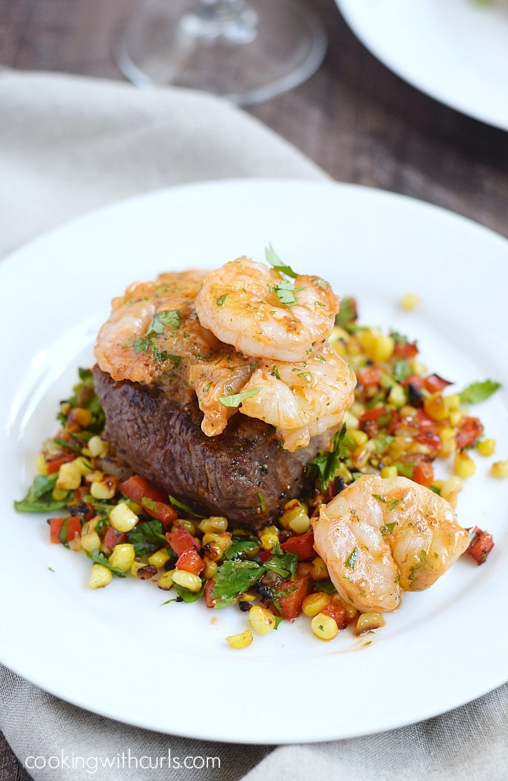 Beef-Tenderloin-on-a-bed-of-Grilled-Corn-Relish-topped-with-Tomato-Butter-for-the-ultimate-Dinner-for-Two-cookingwithcurls.com_-2