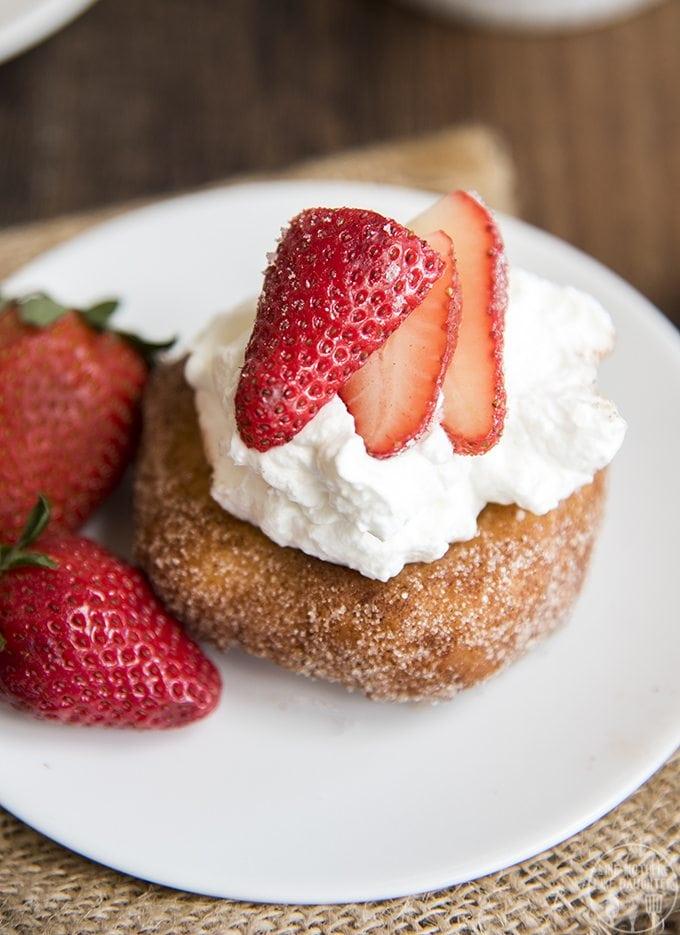 Shortcake Biscuits Strawberries