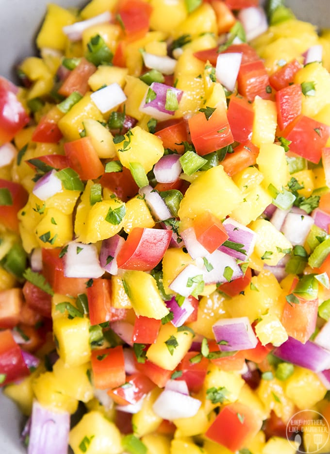 Find out how to make mango salsa that is paired perfect with chips, on grilled meat, tacos, and more!
