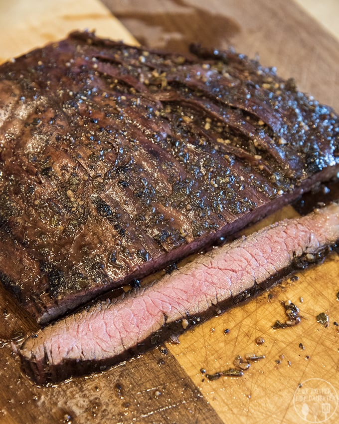 Balsamic Flank Steak Marinade packs your grilled flank steak to perfection!