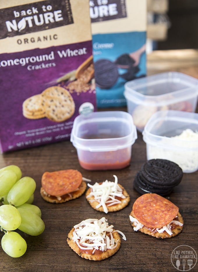 Homemade pizza lunchables are so much tastier and healthier than store bought and your kids will just love them!