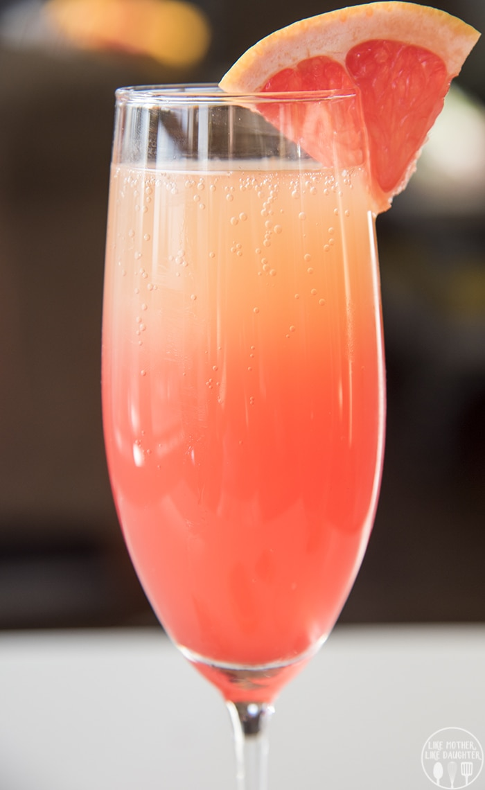 Grapefruit mocktails