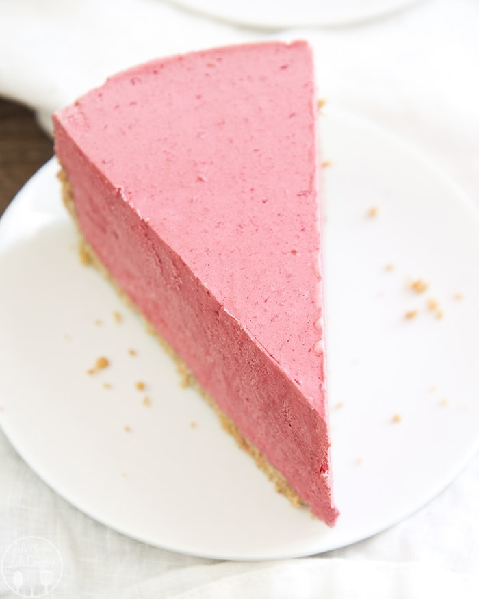 Freezer Raspberry Pie