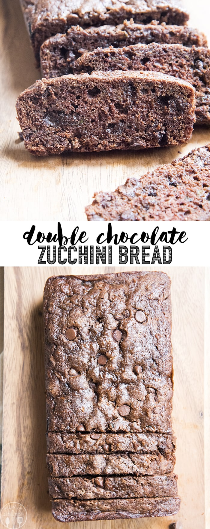 This double chocolate zucchini bread is moist, delicious, and the perfect way to get your chocolate fix. You'll forget that there is even zucchini in it!