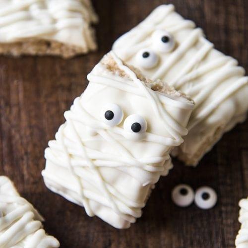 Mummy Rice Krispie Treats – Like Mother, Like Daughter