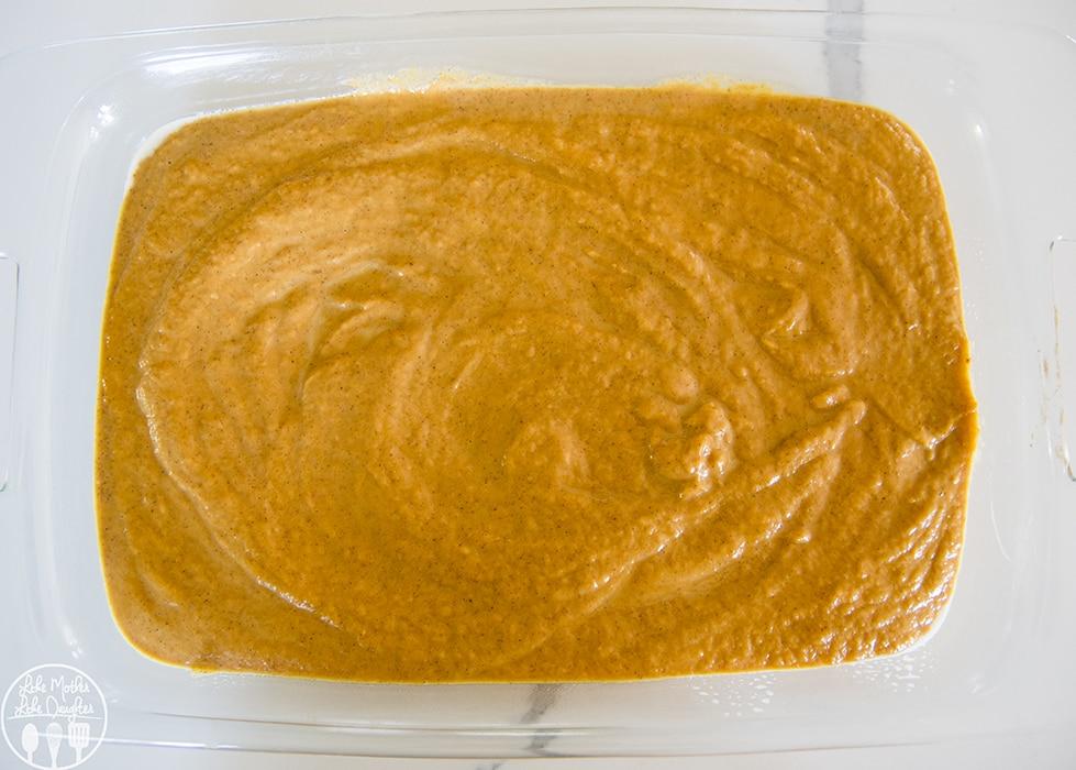 Pumpkin Cobbler with a Cake Mix