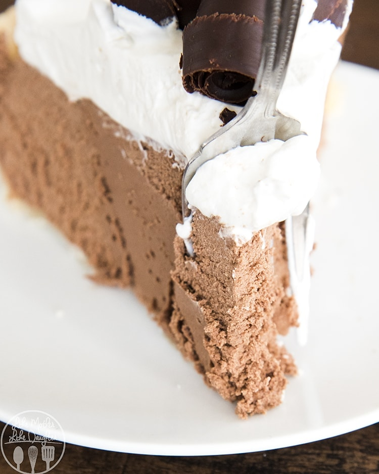 Homemade French Silk Pie is the perfect Thanksgiving pie!