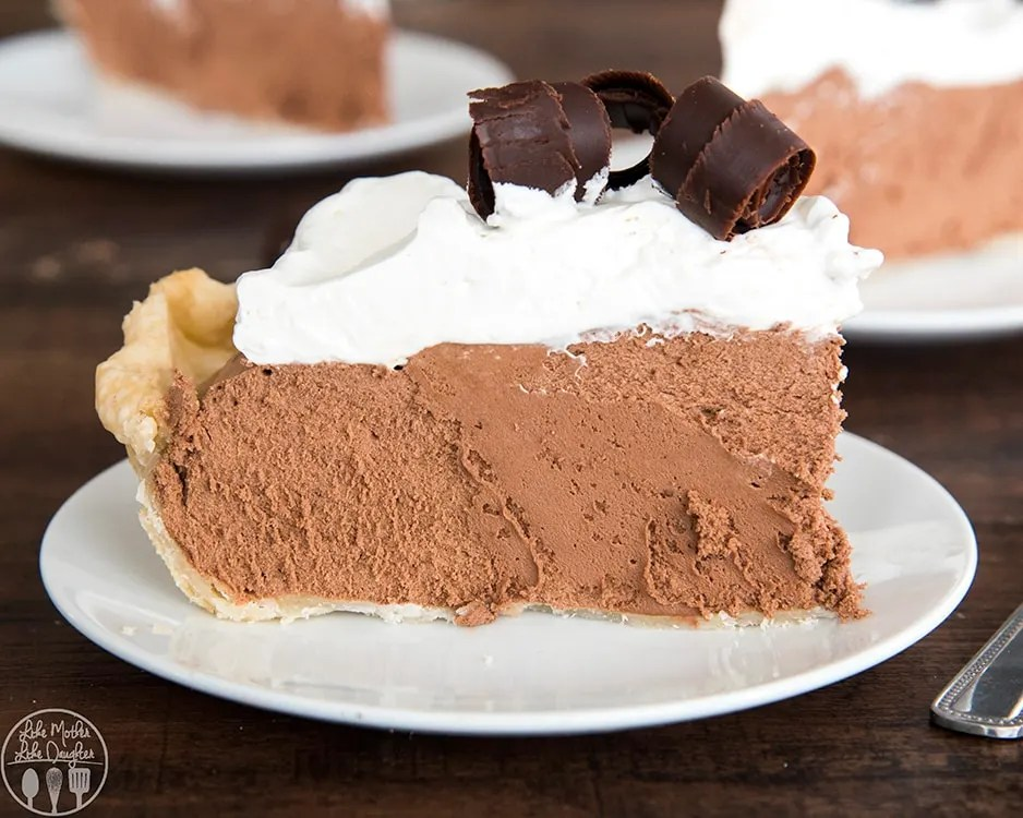 Chocolate Silk Pie Recipe is the best chocolate pie ever!