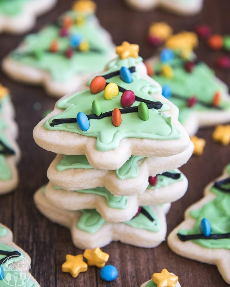 Christmas Tree Sugar Cookie Recipe