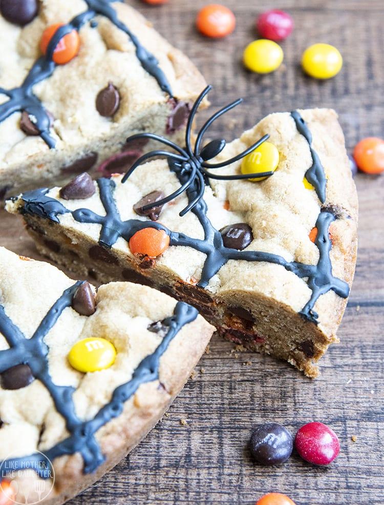 Spiderweb cookie