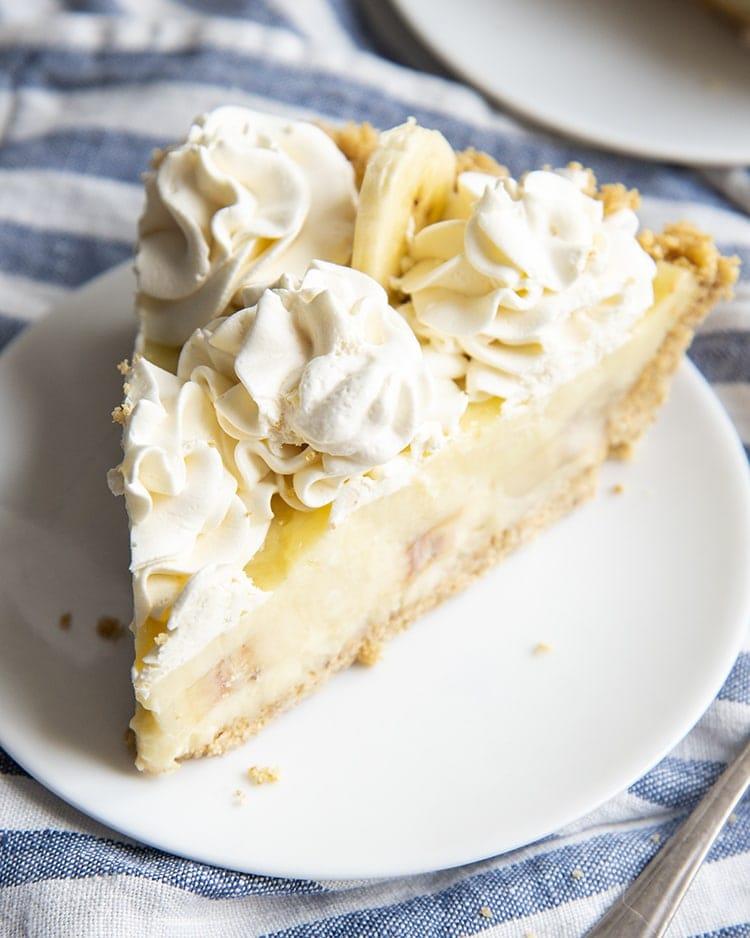 Banana Cream Pie (from scratch)