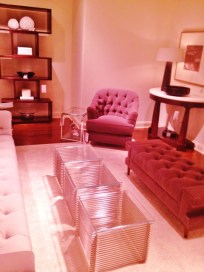 Tufted furniture items with Contemporary coffee tables i