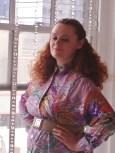 Pastel Print Belted Tunic Dress