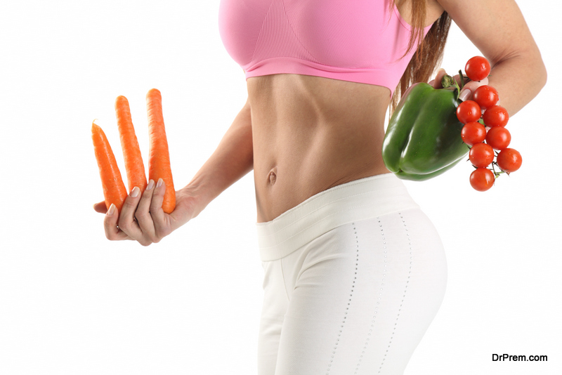 Exercises using Vegetables
