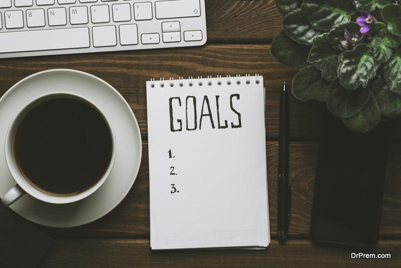 Set smaller goals