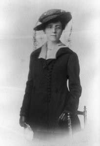 L.M. Montgomery in her early forties, 1917