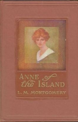 Cover of the original edition of ANNE OF THE ISLAND by L.M. Montgomery